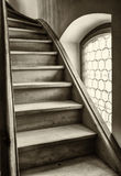 Старая лестница Стоковые Изображения