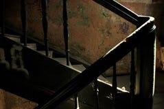 Старая лестница стоковое изображение rf
