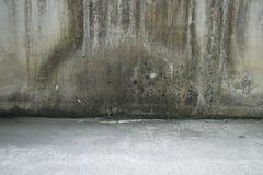 Старая деталь бетонной стены Стоковое Изображение RF