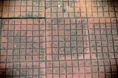 Старая деталь бетонной стены Стоковые Фотографии RF