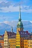 Старая деталь городка, Стокгольм, Швеция Стоковое Изображение RF