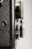 Старая деталь конца-вверх камеры фото стоковое изображение rf