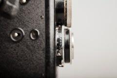 Старая деталь конца-вверх камеры фото стоковые изображения