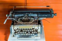 Старая деталь машины машинки Стоковое Фото