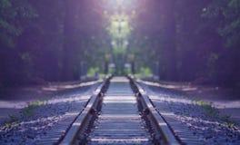 Старая железнодорожная предпосылка стоковое фото rf