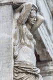 Старая женская статуя Стоковые Изображения RF
