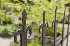 Старая железная загородка Стоковые Изображения RF