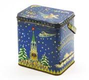 Старая железная коробка Стоковое Изображение