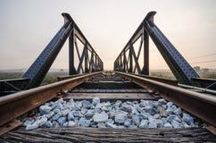 Старая железная дорога моста Стоковые Изображения RF