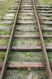 старая железная дорога Стоковое Изображение