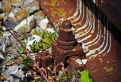 старая железная дорога Стоковые Фотографии RF