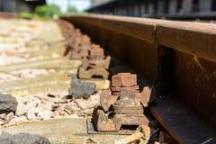 старая железная дорога Стоковые Фото