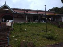 Старая железнодорожная станция ¤› ðŸ стоковая фотография rf