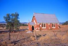 Старая забытая церковь стоковое изображение rf