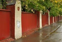 Старая загородка Стоковое Фото