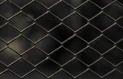 Старая загородка звена цепи Стоковые Изображения RF