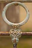 Старая загородка утюга Стоковые Изображения
