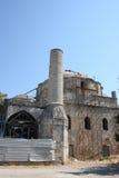 Старая загубленная мечеть в Родос стоковые изображения