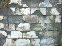 Старая загубленная крыть черепицей черепицей стена Стоковое Изображение RF
