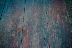 Старая залакированная огорченная деревянная столешница Стоковое Изображение RF