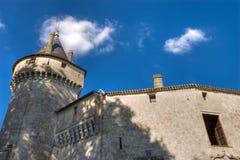 старая замока времени средняя Стоковая Фотография RF