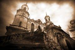 старая замока классицистическая Стоковая Фотография