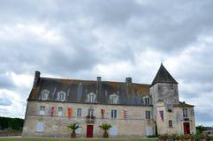 старая замока французская Стоковые Изображения RF