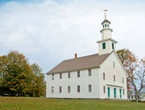 Старая западная церковь, Кале, VT Стоковая Фотография