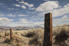 Старая западная загородка Стоковые Фотографии RF