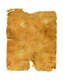 Старая заплата ткани на белой предпосылке Стоковое Фото