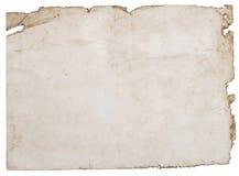 старая запятнанная бумага Стоковое Изображение RF