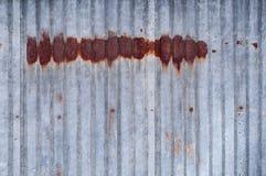 Старая заржаветая предпосылка металла, ржавая текстура металла Стоковые Фотографии RF