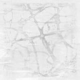 Старая затрапезная поцарапанная бумага Стоковое фото RF