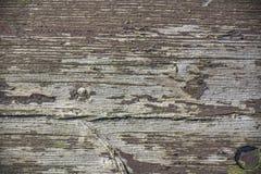 Старая затрапезная древообразная предпосылка Стоковые Фотографии RF