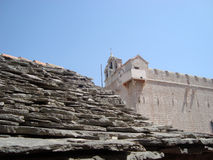 старая зодчества среднеземноморская Стоковые Фото