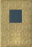 Старая золотая обложка книги Стоковые Изображения RF
