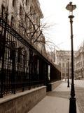 Старая известная улица Стоковые Фото