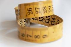 Старая измеряя лента стоковое изображение