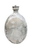 старая изолированная склянкой воинская Стоковое Фото