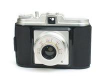 Старая изолированная белизна камеры год сбора винограда Стоковое Изображение