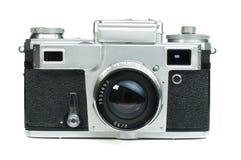 Старая изолированная белизна камеры год сбора винограда Стоковые Фото