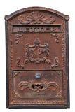 Старая изолированная коробка письма Стоковое Изображение RF