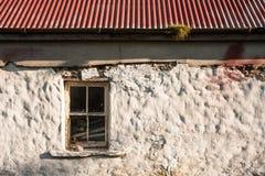 Старая ирландская текстура коттеджа Стоковые Фотографии RF