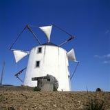 старая испанская ветрянка Стоковые Фотографии RF