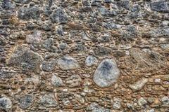 Старая испанская стена миссии стоковая фотография