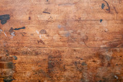 Старая используемая деревянная поверхность Стоковая Фотография RF