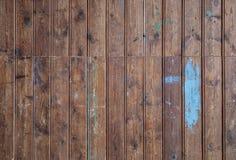 Старая исправленная предпосылка стены тимберса Стоковая Фотография