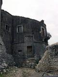 Старая историческая башня в центре города Bakar в Хорватии Стоковые Фотографии RF