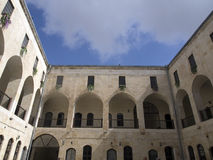 Старая историческая гостиница тахты на индюке antep Стоковая Фотография RF