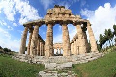Старая итальянская архитектура в южной Италии Стоковые Изображения